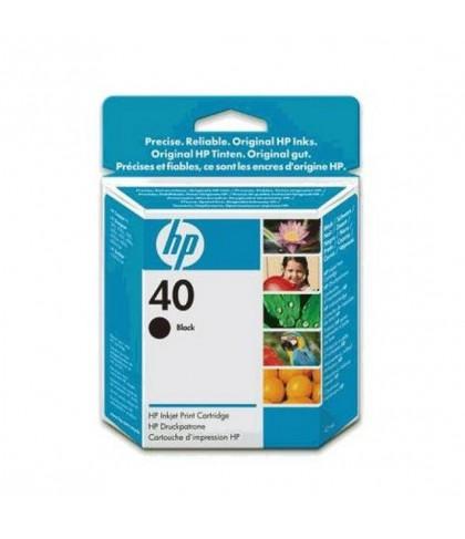 51640AE картридж HP 40 black