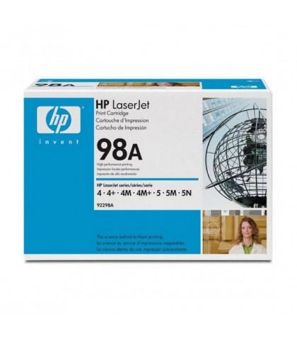 92298A картридж HP 98A