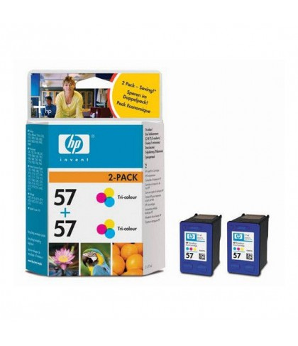 C9503AE картридж HP 57 + 57 color multipack