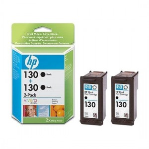 C9504HE картридж HP 130 + 130 black multipack