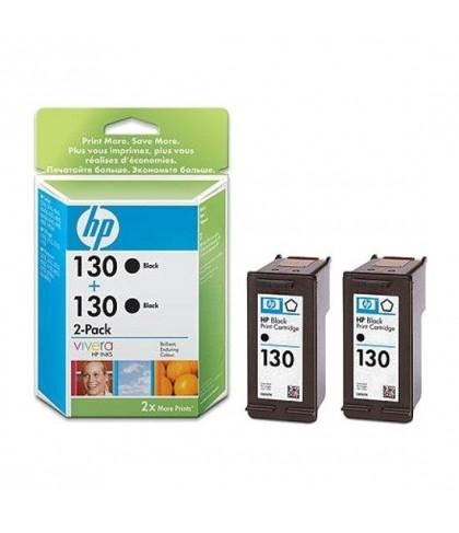 C9504HE картридж HP 130 + 130 black multipack