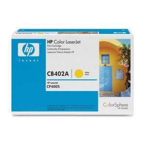 CB402A картридж HP 642A yellow