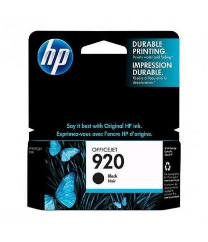 CD971AE картридж HP 920 black