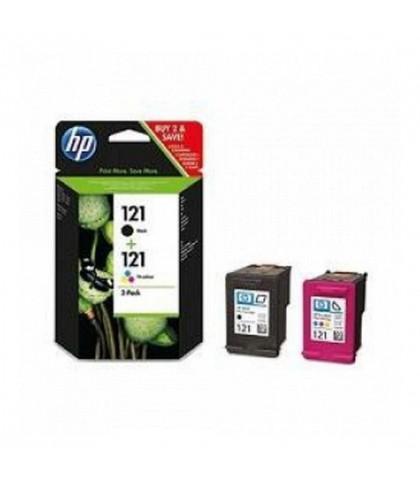 CN637HE картридж HP 121Bk + 121Col