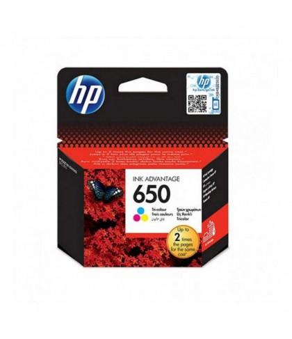 CZ102AE картридж HP 650 color