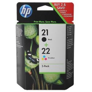 SD367AE картридж HP 21 + 22 multipack