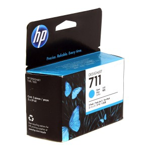 CZ134A картридж HP 711 cyan