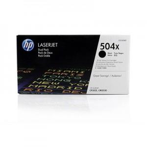 CE250XD картридж HP 504X black