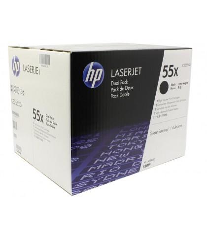 CE255XD картридж HP 55X