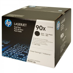 CE390XD картридж HP 90X