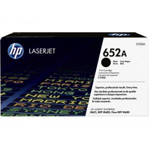 CF320A картридж HP 652A black