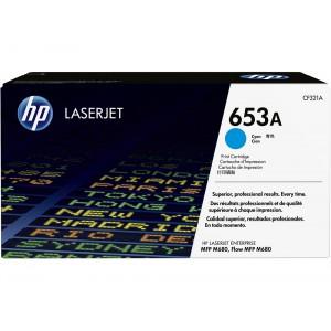 CF321A картридж HP 653A cyan