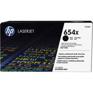 CF330X картридж HP 654X black