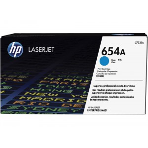 CF331A картридж HP 654A cyan