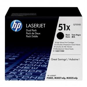 Q7551XD картридж HP 51X
