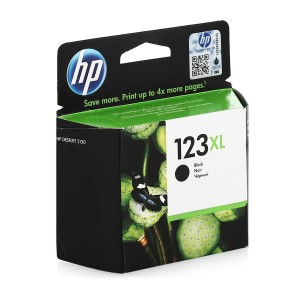 F6V19AE картридж HP 123XL black