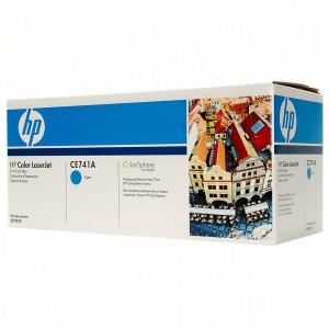 CE741A картридж HP 307A cyan