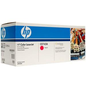 CE743A картридж HP 307A magenta
