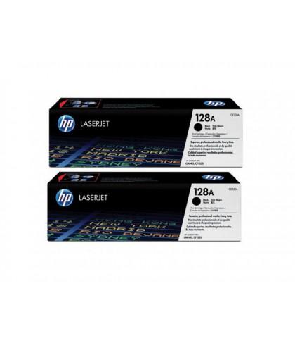CE320AD картридж HP 128A black