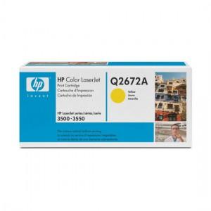 Q2672A картридж HP 309A yellow