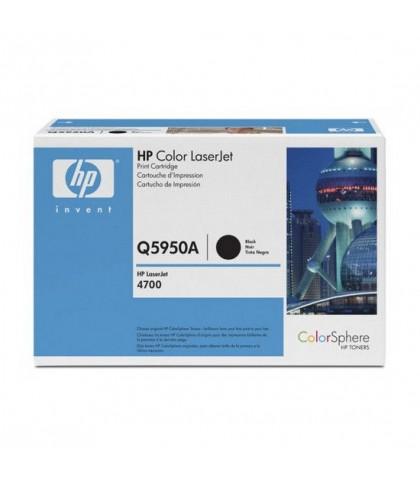 Q5950A картридж HP 643A black