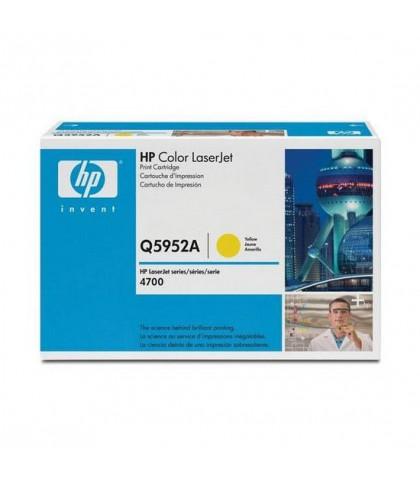 Q5952A картридж HP 643A yellow