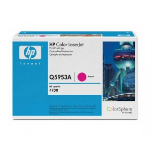 Q5953A картридж HP 643A magenta