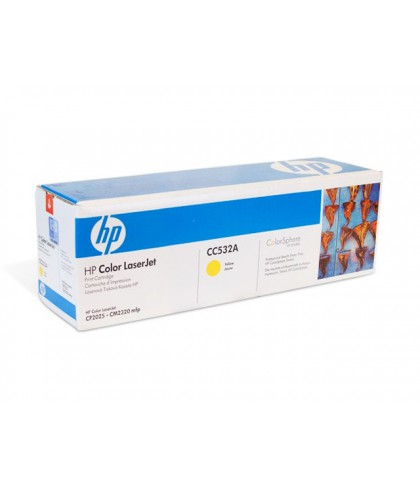 CC532A картридж HP 304A yellow