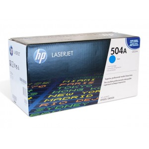 CE251A картридж HP 504A cyan