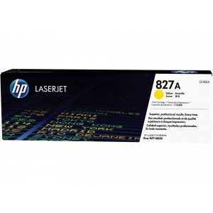 CF302A картридж HP 827A yellow