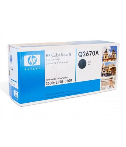 Q2670A картридж HP 308A black