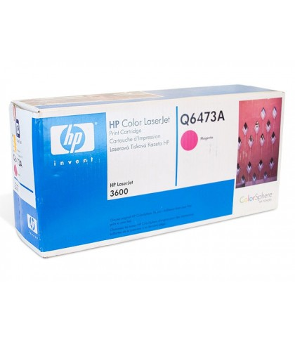 Q6473A картридж HP 502A magenta