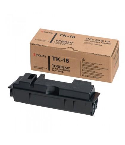 Kyocera TK-18 чёрный тонер картридж