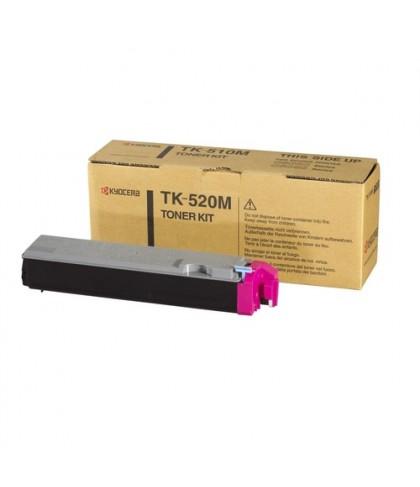 Kyocera TK-520M пурпурный тонер картридж