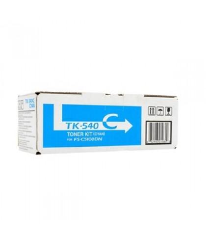 Kyocera TK-540C голубой тонер картридж