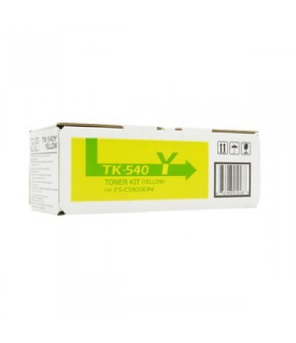 Kyocera TK-540Y жёлтый тонер картридж