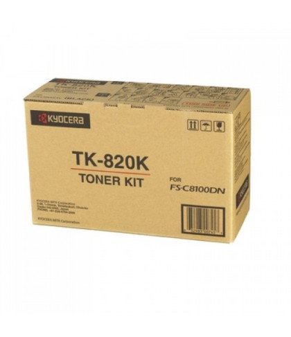 Kyocera TK-820K чёрный тонер картридж