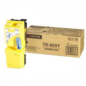 Kyocera TK-820Y жёлтый тонер картридж