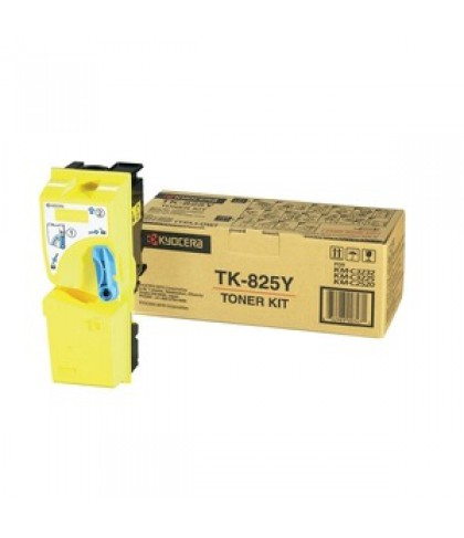 Kyocera TK-825Y жёлтый тонер картридж
