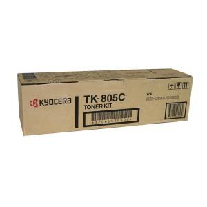 Kyocera TK-805C голубой тонер картридж