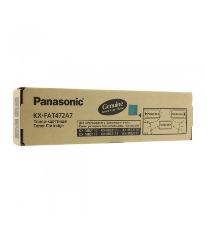 KX-FAT472A7 тонер картридж Panasonic