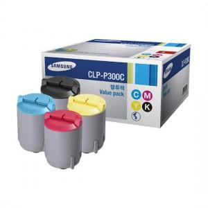 CLP-P300C тонер картридж Samsung комплект 4 цветный