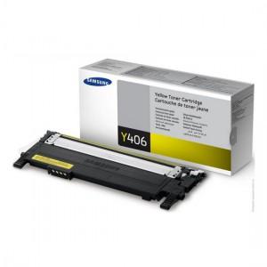 CLT-Y406S лазерный картридж Samsung жёлтый