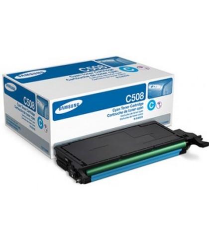 CLT-C508S лазерный картридж Samsung голубой