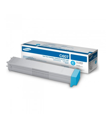 CLT-C607S лазерный картридж Samsung голубой