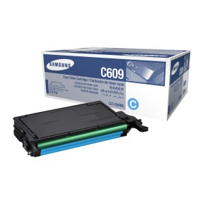 CLT-C609S лазерный картридж Samsung голубой