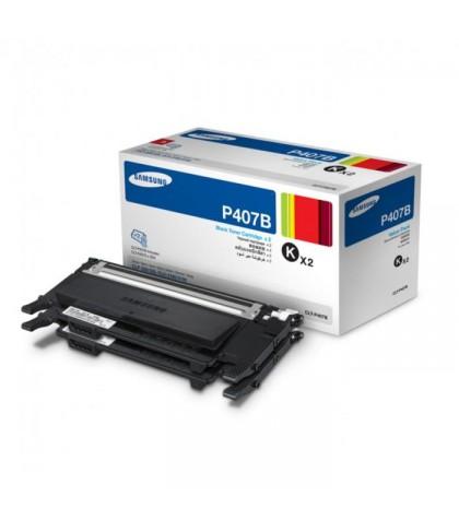 CLT-P407B лазерный картридж Samsung чёрный