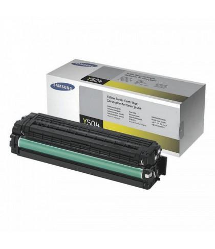 CLT-Y504S лазерный картридж Samsung жёлтый