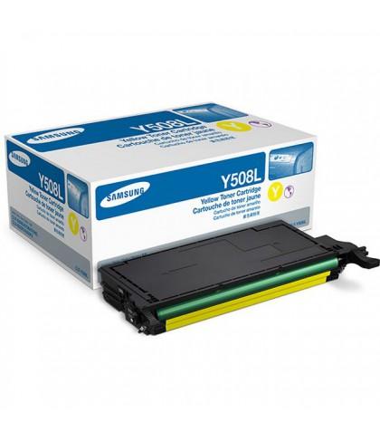 CLT-Y508L лазерный картридж Samsung жёлтый