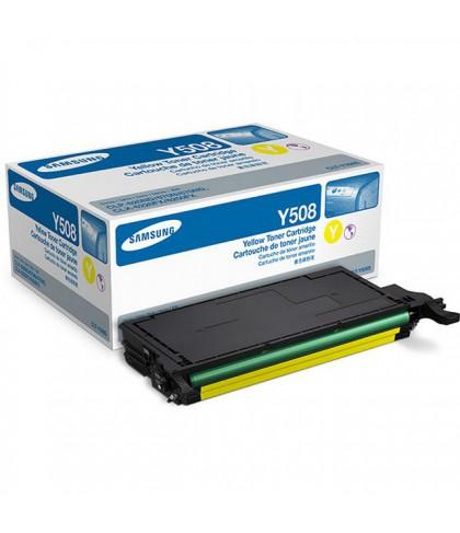 CLT-Y508S лазерный картридж Samsung жёлтый
